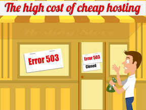 hosting low cost